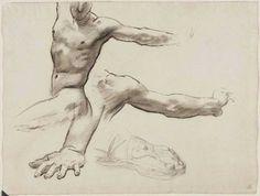 Sketch for Perseus on Pegasus Slaying Medusa John Singer Sargent