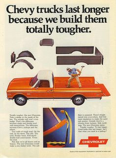 why don't they make orange chevy's anymore? This is hot.  Who's with me?