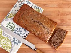 Greek Yogurt Banana Nut Bread - Moist and Lowfat Recipe