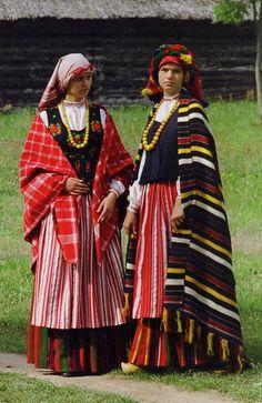 folk costume&embroidery: costume of Samogitia, Žemaitija, or Lower Lithuania