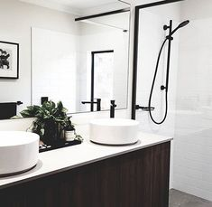 Taps, Bricks, Stilettos, Bathtub, Australia, Interior Design, Mirror, Bathroom, Architecture