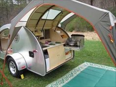 Fabulous Small Teardrop RV Camper Trailer Model that Must You See https://decomg.com/small-teardrop-rv-camper-trailer-model/