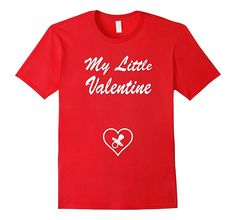 Amazon.com: W.E.Buy Apparel: Little Valentine Pregnancy Announcment Tee: Clothing