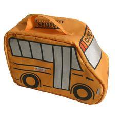 Thomas Built Buses - School Bus - SCHOOL BUS LUNCH BAG    www.GardianAngelLLC.com