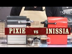 Nespresso Inissia vs Pixie - Which espresso machine is the best for you? Mocha Coffee, Coffee Brewer, Nespresso Essenza, Coffee Maker Reviews, Nespresso Machine, Gourmet Recipes, Gourmet Foods, Coffee Quotes, Animal Quotes