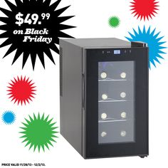 Shop Lowe's on Black Friday for a great deal on this wine cooler!