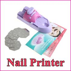 Nail Art Printer DIY Pattern Printing Manicure Machine Stamp Nail Tools Set Wholesale on AliExpress.com. 20% off $8.05
