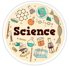 Science Sticker stickers 'Science' Sticker by ksheaffs Science Drawing, Science Art, Science Doodles, Science Chemistry, Printable Stickers, Cute Stickers, Science Tumblr, Tumblr Stickers, Aesthetic Stickers