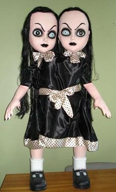 I found '4 FT Gothic Siamese Twins Halloween Prop' on Wish, check it out!