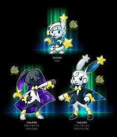The Rabbit on the Moon by Darksilvania ( yes please i need this pokemon ) Pokemon Fake, Mega Pokemon, Pokemon Pokedex, Pokemon Fan Art, Pokemon Fusion, Cute Pokemon, Fanart Pokemon, Satoshi Pokemon, Pokemon Original