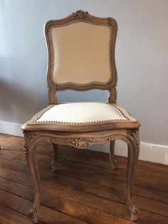 Chaise ancienne relookée / oldfashion chair redesigned