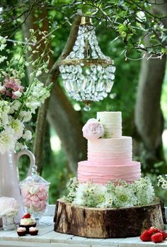 April Spring 'Sleeping Beauty' Easter Secret Garden Wedding