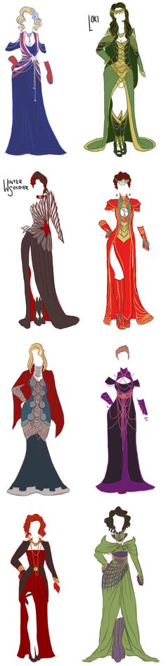 These Fancy Avengers And Villains Evening Gowns Need To Be In My Closet -- Read more at http://fashionablygeek.com/approved-products/these-fancy-avengers-and-villains-evening-gowns-need-to-be-in-my-closet/#qo9Ioh4HXbsi2URR.99.