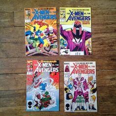 X-Men vs. Avengers Vol 1 1 through 4 Copper by RubbersuitStudios #comicbooks #xmen #avengers #etsy