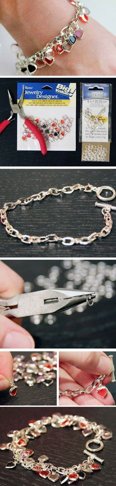 Heart Cham Bracelet   Cheap and Easy Thank You Gifts