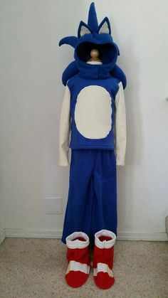 Sonic the Hedgehog Costume front