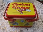 Curious George 3 Section Collectible TIN BY Schylling