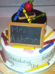 teacher cake by rubberpoultry, via Flickr