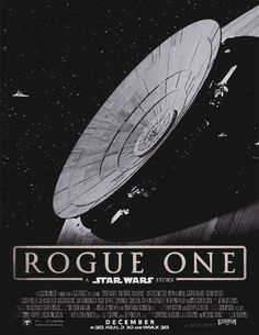 ROGUE ONE: A STAR WARS STORY Official Teaser Trailer mockup film posters