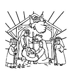 Christian Christmas Coloring Pages | Coloring Page - Christmas bibel coloring pages 8