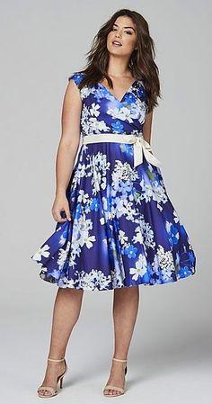 eb501657e3 Plus Size Fit   Flare Dress