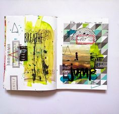SODAlicious: art journal challenge ►