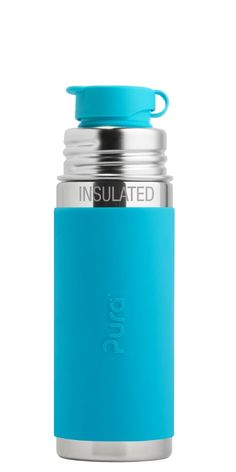 a0df6b817e5 Pura Sport Mini Insulated 9oz. The only 100% plastic-free and NonToxic  Certified