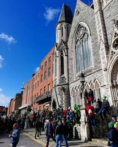 good day to be an octopus in Dublin! Visit Dublin, St Patricks Day Parade, St Paddys Day, Dublin Ireland, Sunday Funday, See It, Good Day, Octopus, Barcelona Cathedral