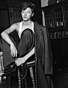 UNIQ Seung Youn - GQ Magazine November Issue '14