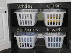 Laundry room organization organization