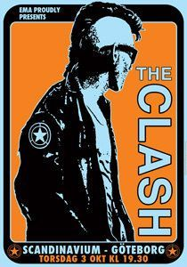 The Clash: tour poster U.K. 1978 | Graphics | Pinterest | Editor ...