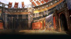 ArtStation - Arena Masters, Hui-Won Park