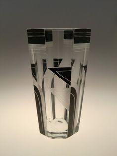 Vintage-Czech-Bohemian-Art-Deco-Glass-Vase-by-Karl-Palda-Novy-Bor-Haida