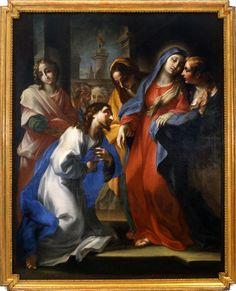 Stefano Maria Legnani Commiato di Cristo dalla Vergine Fontaneto Oratorio dell'Annunciata