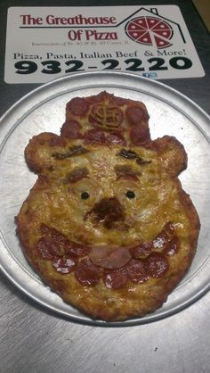 Fozzie Bear, St. Louis Cardinals Pizza.