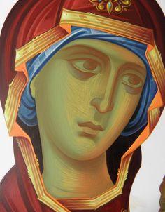 Religious Images, Religious Icons, Religious Art, Byzantine Icons, Byzantine Art, Icon Clothing, Greek Icons, Face Icon, Russian Icons