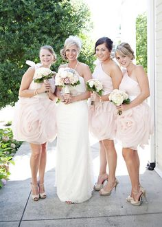 Blush Tennessee Garden Wedding