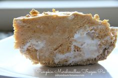 Every year, I try and create a pumpkin pie alternative (not that I don't love...
