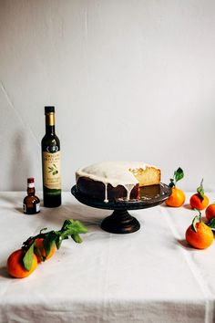 olive oil citrus cake by Hummingbird High