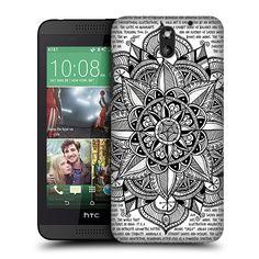 HEAD CASE DESIGNS MANDALA DOODLES HARD BACK CASE FOR HTC DESIRE 610