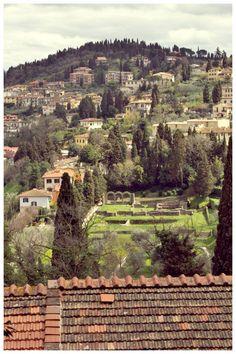 Fiesole, near Florence, Firenze, Tuscany, Italy (Andrea Vass Photography)