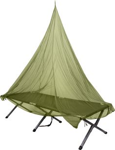 Olive Drab Single Cot Campers Mosquito Net Canopy Covering