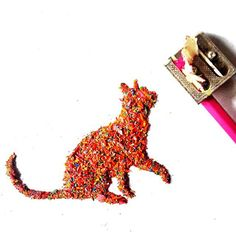 Pencil Shaving Art - Colorful Pencil Shaving Art of Animals and Pop Culture Characters- http://laughingsquid.com/colorful-pencil-shaving-art-of-animals-and-pop-culture-characters/ #art