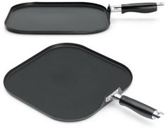 Two Sided Cast Iron Griddle (Pre-Seasond, Ready to Use)