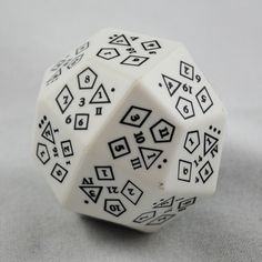 The Amazing D-Total Dice, 18 Dice in One.. Cool!