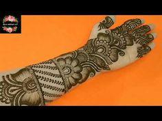 Circle Mehndi Designs, Very Simple Mehndi Designs, Indian Henna Designs, Mehndi Designs Book, Latest Bridal Mehndi Designs, Mehndi Design Pictures, Mehndi Designs For Beginners, Mehndi Designs For Fingers, Mehendi Simple