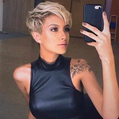 New Trend Pixie Hairstyles - Haircut Samples - - New Trend Pixie Hairstyles – Haircut Samples short hair bob pixie New Trend Pixie Frisuren – Haarschnittmuster Haircut Styles For Women, Short Haircut Styles, Short Pixie Haircuts, Pixie Hairstyles, Short Hairstyles For Women, Straight Hairstyles, Short Blonde Pixie, Office Hairstyles, Anime Hairstyles