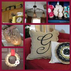 6 burlap projects.