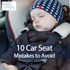 10 car seat mistakes to avoid: http://www.babeetalk.com/blogs/babeetalkblog/16570584-what-not-to-do-with-your-child-s-car-seat #babeetalk #blog #carseat #useful #tool #parenting #safety #child