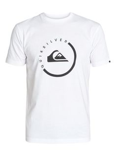 quiksilver, Classic Tee Everyday Active, WHITE (wbb0)